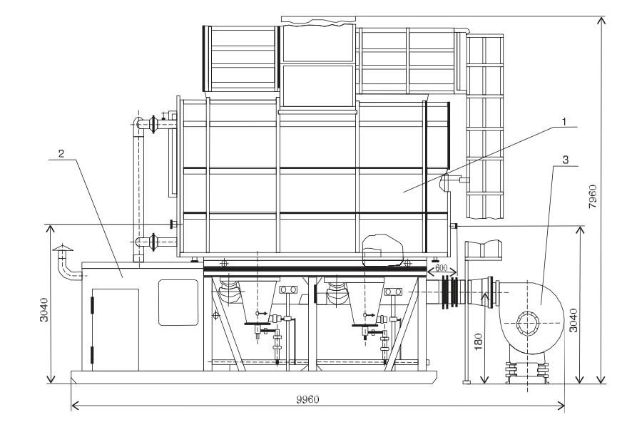 Печь трубчатая блочная ПТБ-5-40А