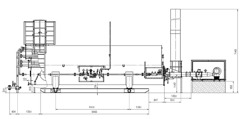 Подогреватель блочный с промежуточным теплоносителем ПБТ-1,6М (1,6МЖ; 1,6МК)