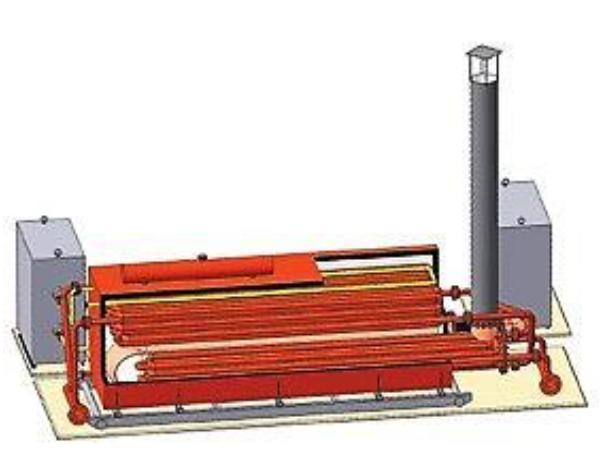 Подогреватель нефти с комбинированным нагревом ПНК-1