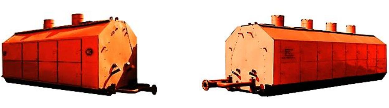 Подогреватели нефти трубопроводные автоматизированные