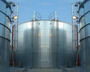 вертикальный цилиндрический резервуар